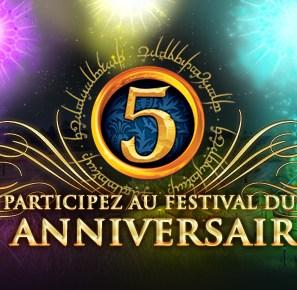 Le Festival Anniversaire est pour bientôt