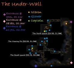Carte du sous-mur - Rohan