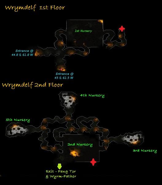 Carte de Wyrmdelf - Rohan