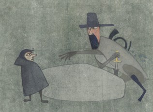 Boromir demande l'Anneau à Frodon
