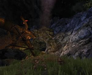 Les Flammes de Smaug - Valve nord ouest