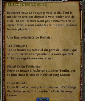 L'anniversaire de Bilbo et Frodon