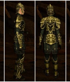 Armures craftées du Gouffre de Helm