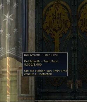 Les instances bloquées de Dol Amroth