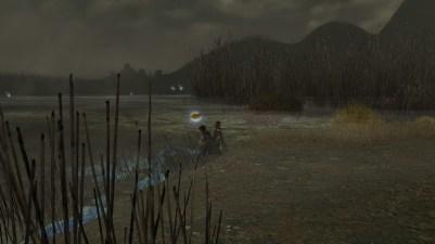 Frodon captivé par les eaux hantées
