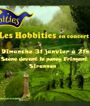 Les Hobbities en concert