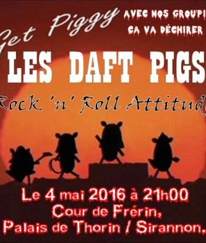 Concert des Daft Pigs mercredi soir