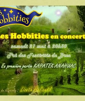 Concert des Hobbities, ce samedi