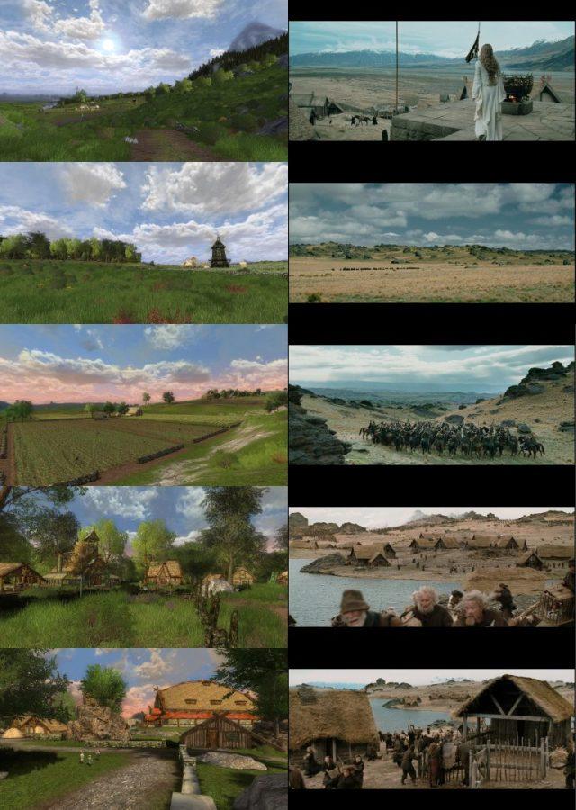Le Rohan, ses plaines, ses villages