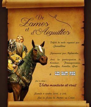 De lames et d'aiguilles – 2eme édition