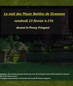 Concert : Les Music Battles de Sirannon