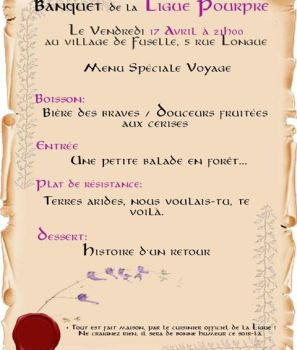Banquet de la Ligue pourpre