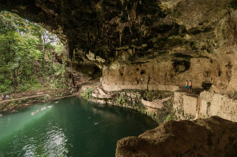 cénote yucatan valladolid grotte