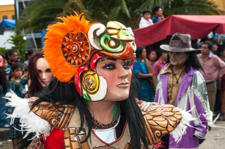 danseur combite solola lac atitlan guatemala