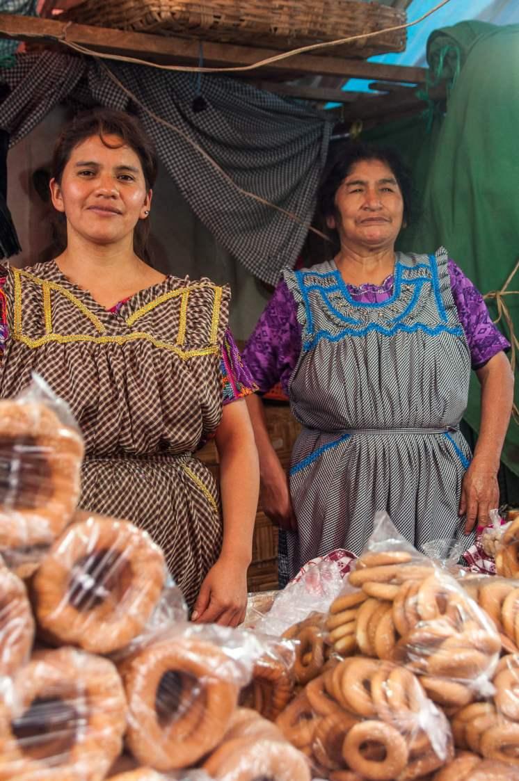vendeuse roscas san pedro