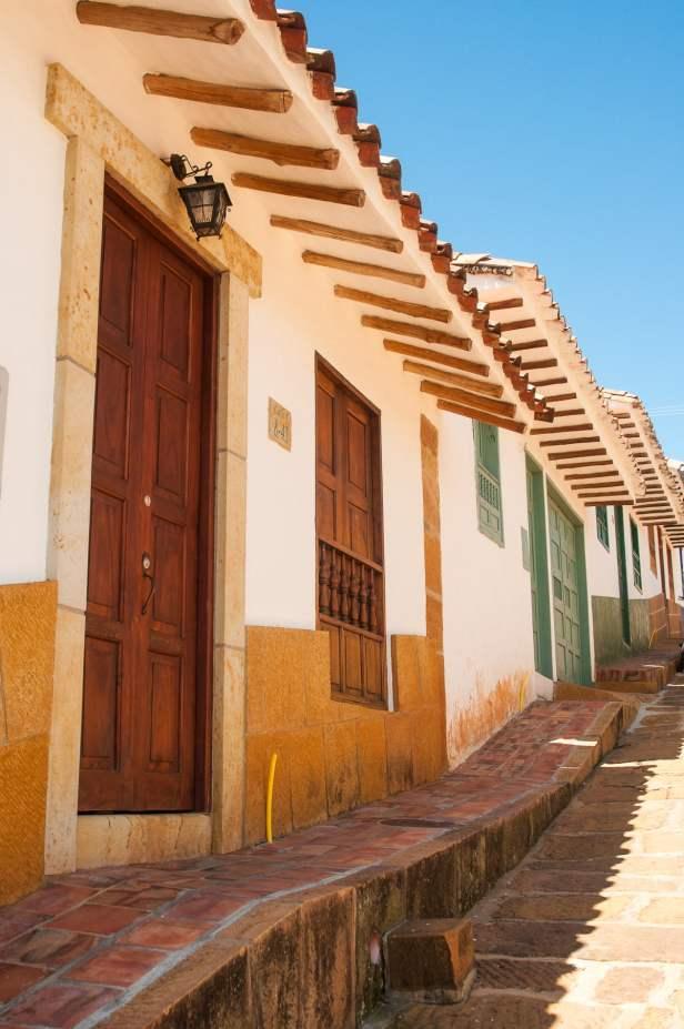 architecture barichara