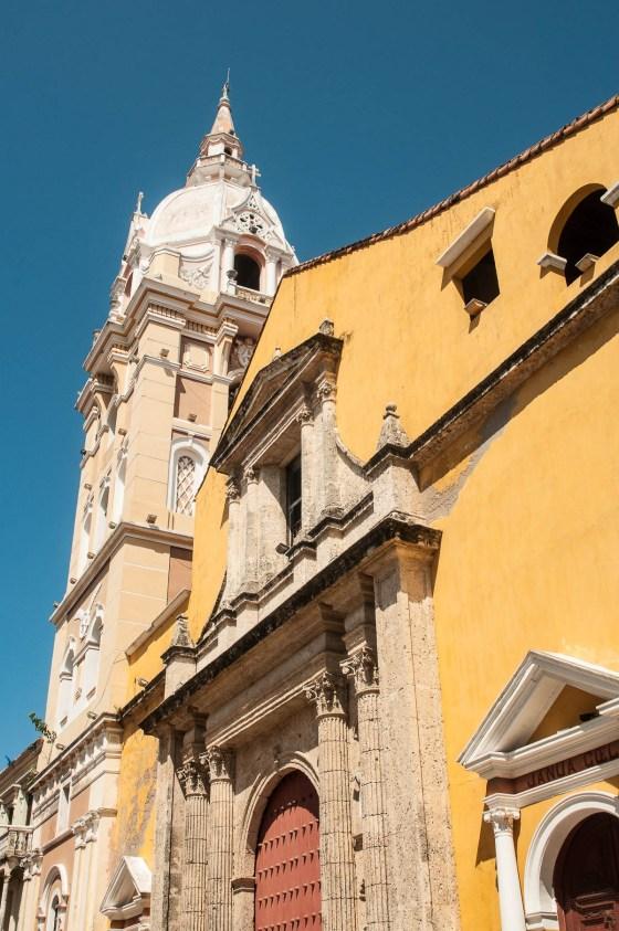 carthagène église détail