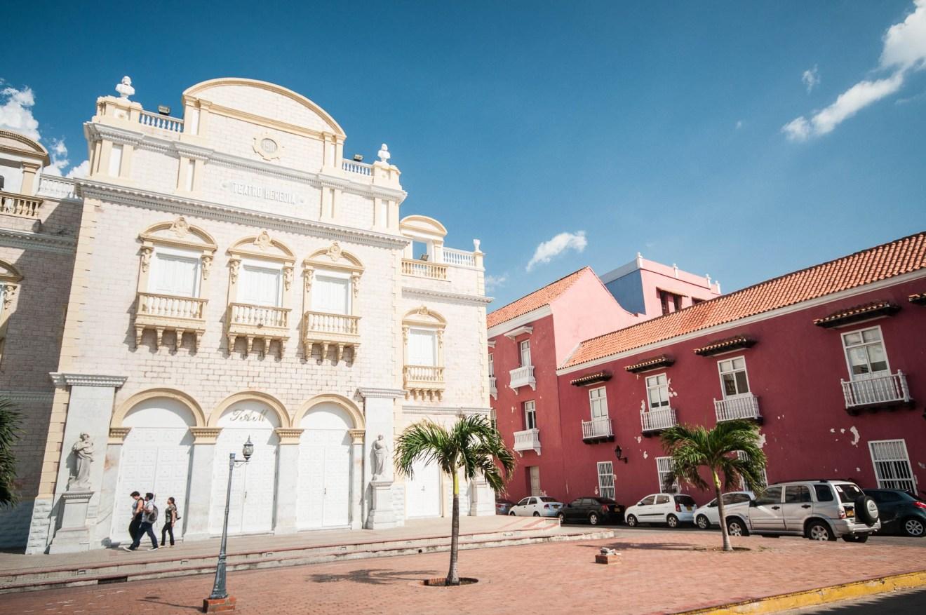 Théâtre Pedro Heredia carthagene colombie