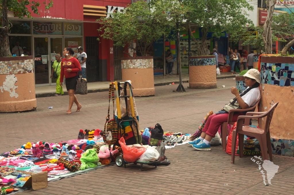 vendeur de rue à panama city