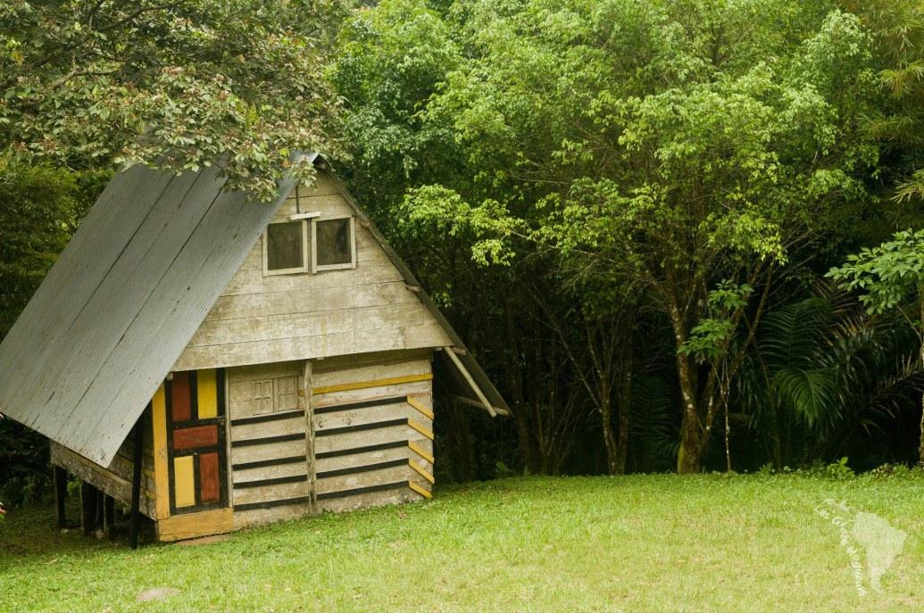 Maison traditionnelle panaméenne