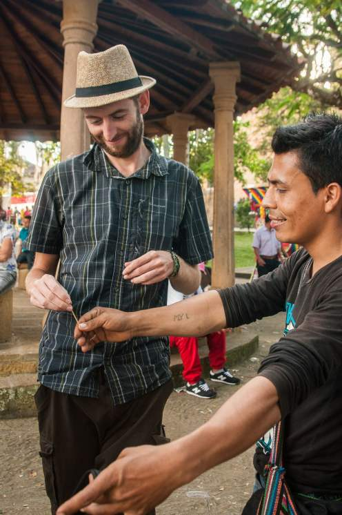 fil magie kermesse village colombie