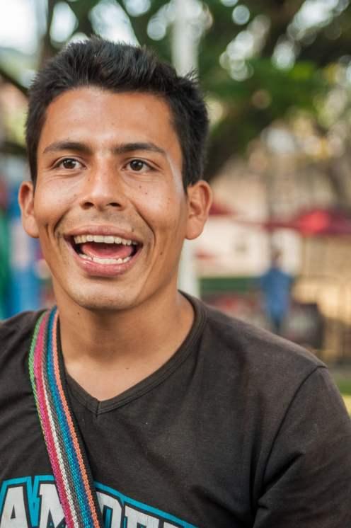 Portrait colombien forain