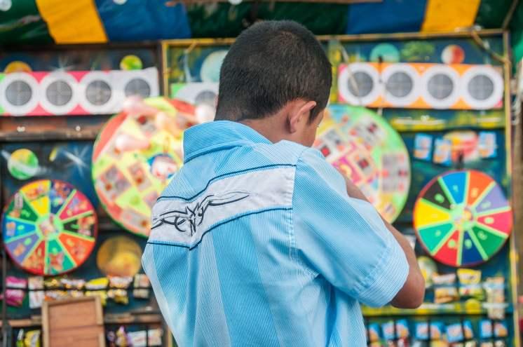 jeu fête colombie village