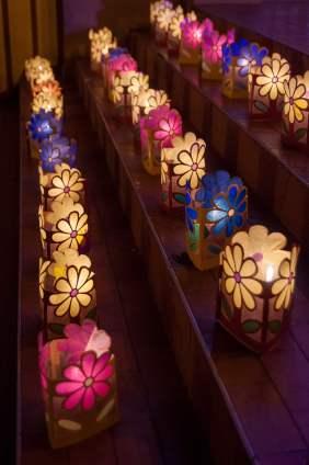 lampions bougies