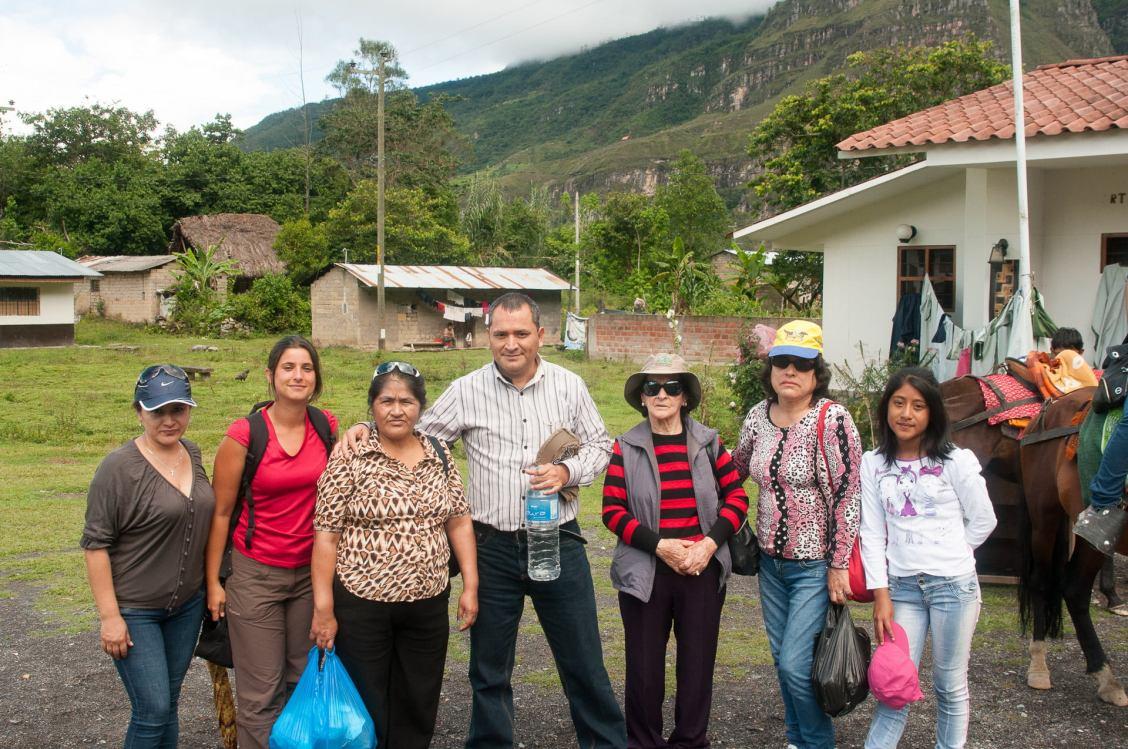 Rencontre avec une famille de Chiclayo très sympa et qui a tenu à nous prendre en photo
