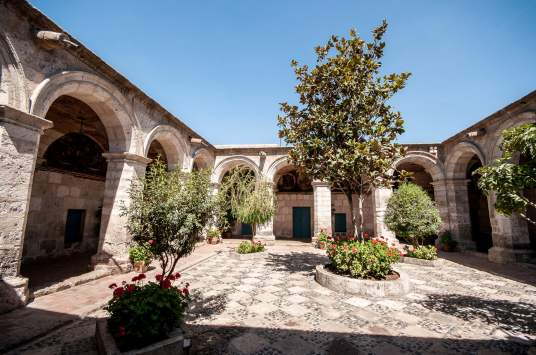 Couvent santa catalina patio