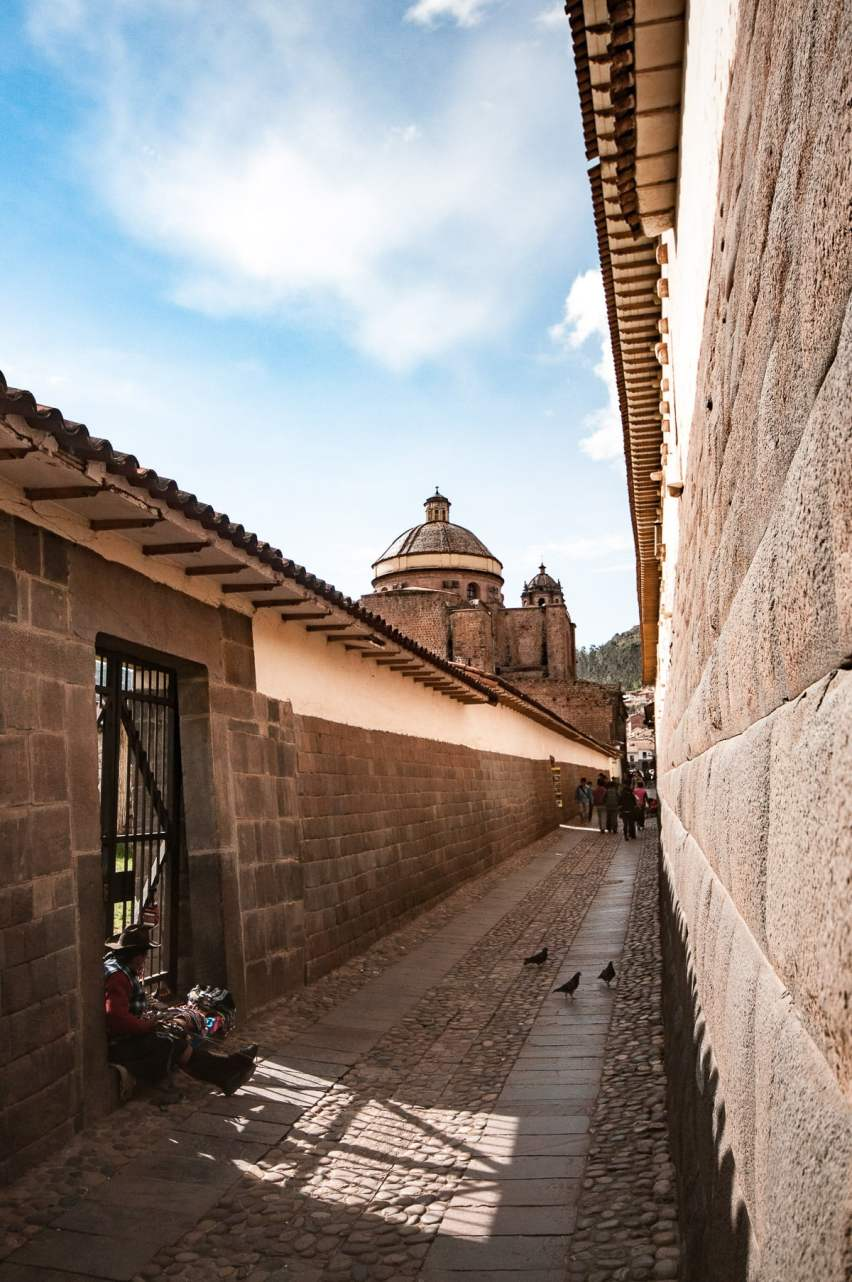 ruelle cusco monument
