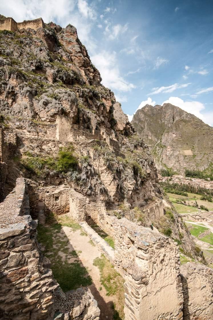 Montagne autour d'Ollantaytambo