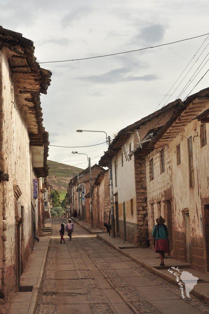 Village de Maras, pérou
