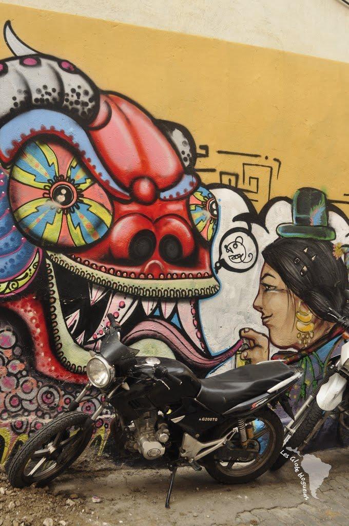 graff street art la paz