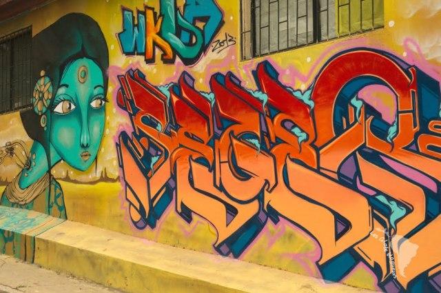 Valparaiso - graff