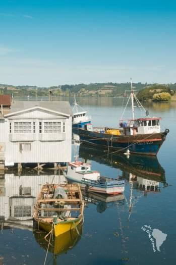 maison pilotis bateau chili