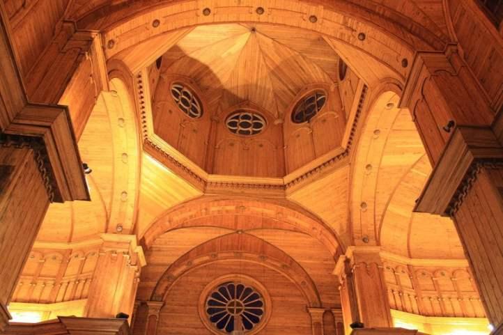 Plafond de l'église de Castro - CC paz guentelican