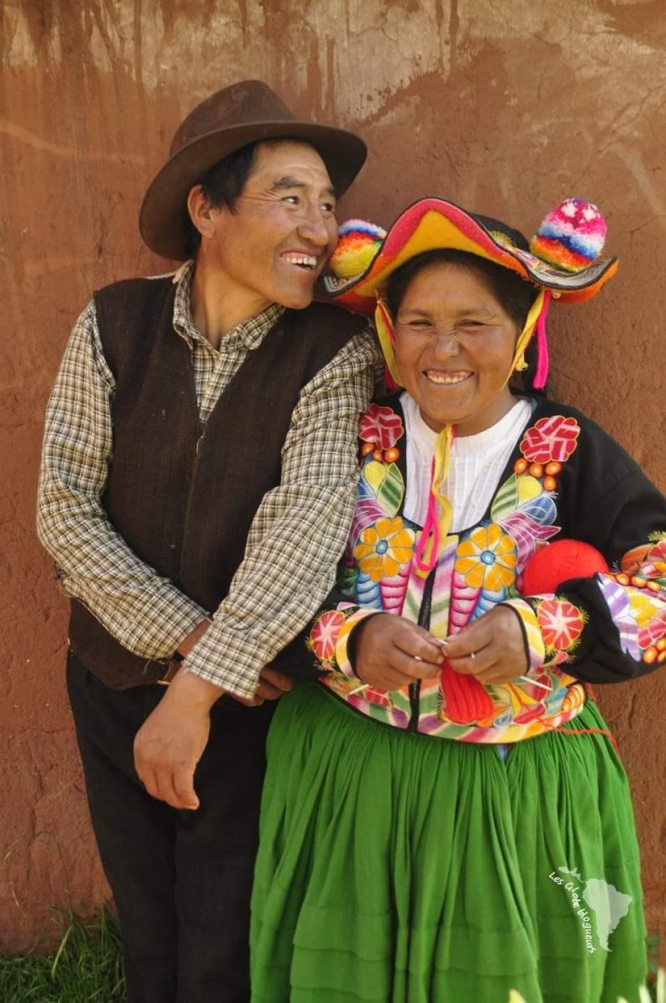 Chapeau typique de Capachica réservé aux femmes mariées