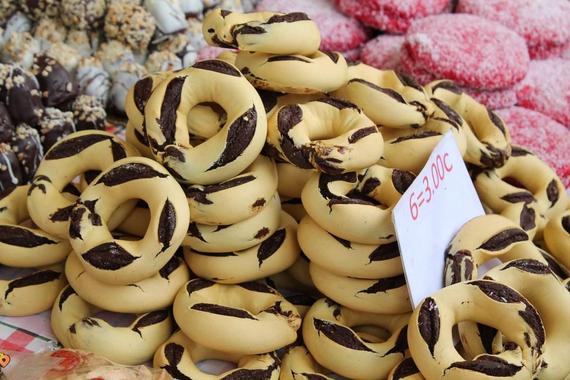 anneaux miel malte sucreries bonbons