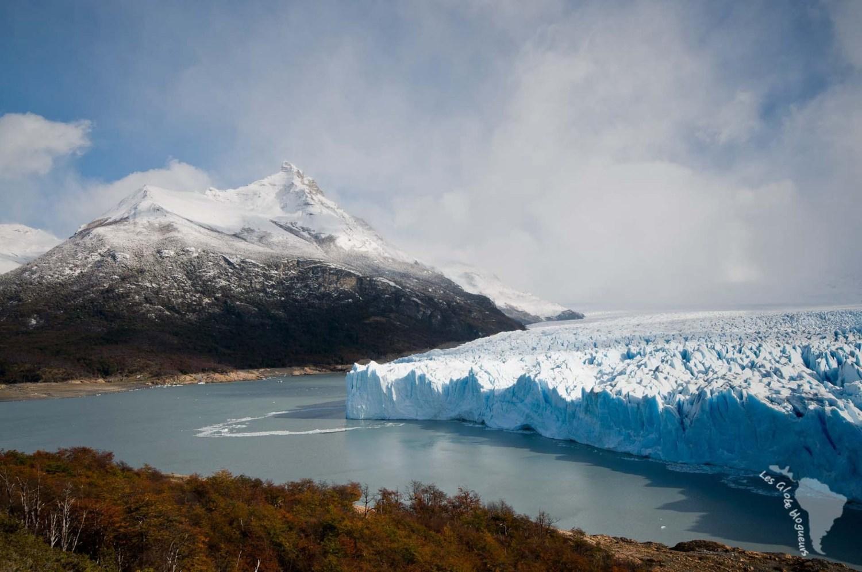 Perito moreno montagnes glacier aregntine