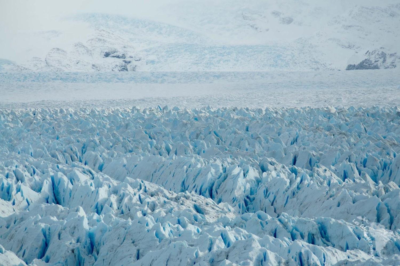 Perito moreno étendue paysage glacier