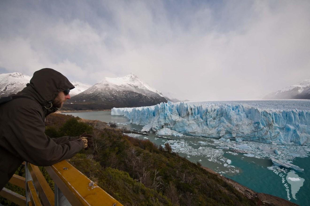 Perito moreno vue panorama glacier