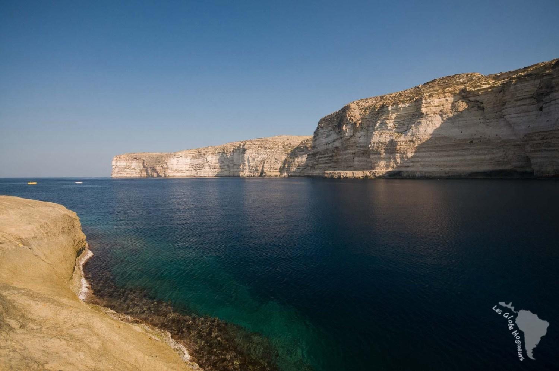 falaises xlendi snorkeling gozo