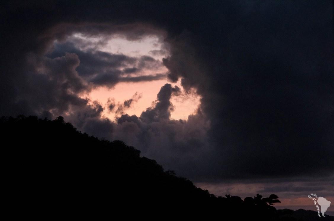 Minca trou nuage