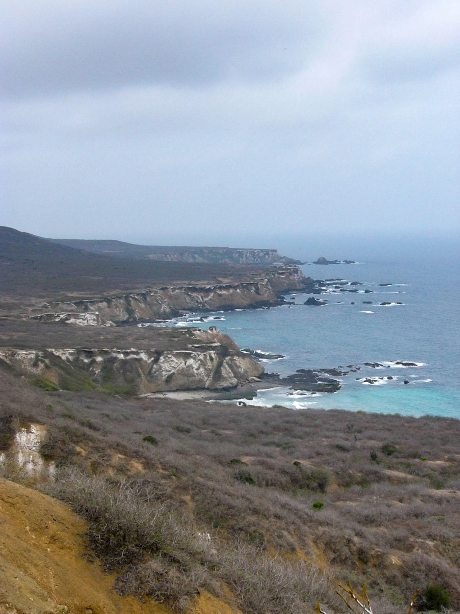 Les côtes de l'isla de la plata