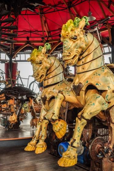 chevaux caroussel voyage à nantes 2016