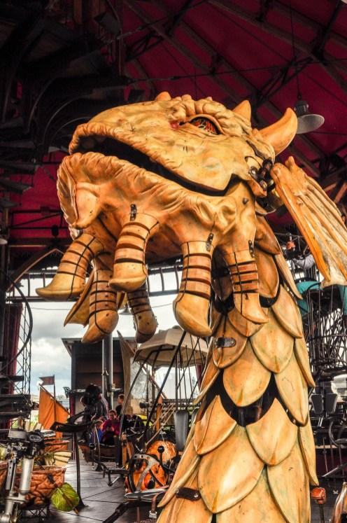 dragon caroussel voyage à nantes 2016