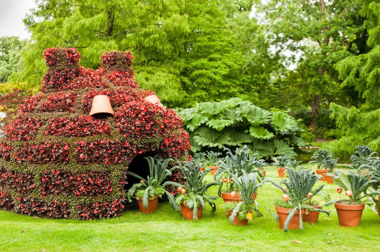 Création végétale de Claude Ponti au jardin des Plantes - Édition 2016 du voyage à Nantes