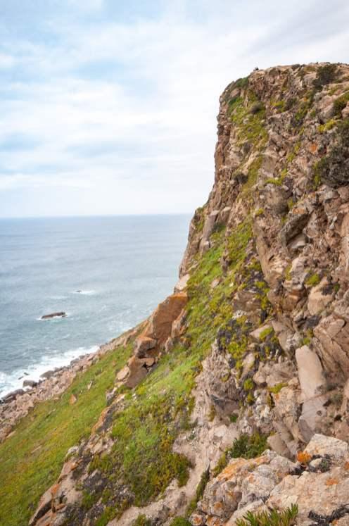 côte lisbonne cabo do roca falaise