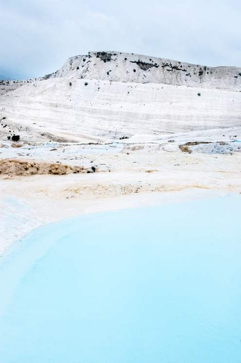 Pamukkale piscine montagne